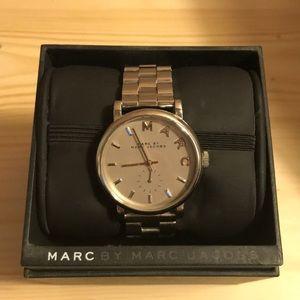 Marc by Marc Jacobs Silver Baker Bracelet Watch